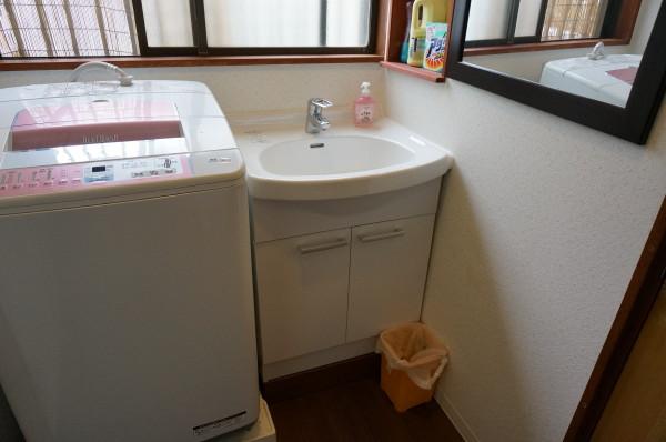 浴室脱衣改修工事