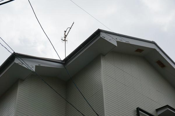 屋根破風板板金工事