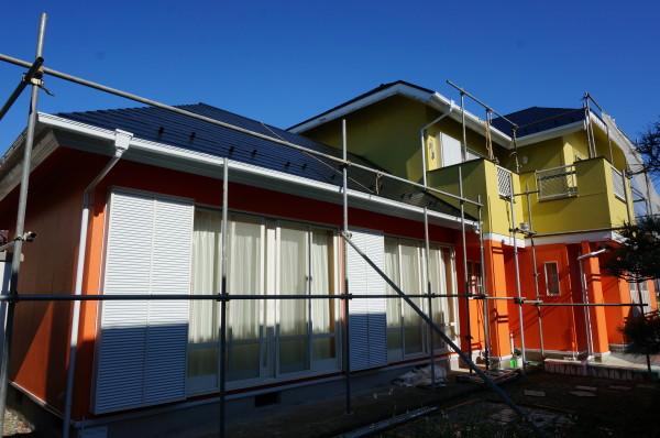 茅ヶ崎市M様邸外壁屋根塗装工事
