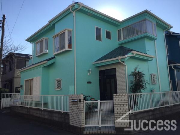 佐藤邸 平和町 屋根・外壁塗装_1011