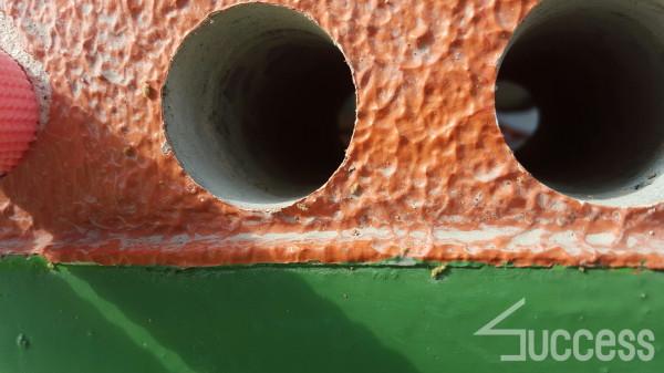 畑野邸の床下、水道、コア抜き_170312_0011