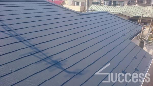 屋根、外壁上塗り、雨戸上塗り_170406_0002